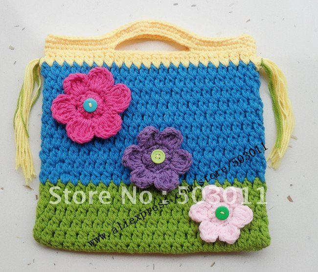 Woolen Crochet Purse : coin purse , ladies coin purse,cartoon coin wallet,baby knitted purse ...