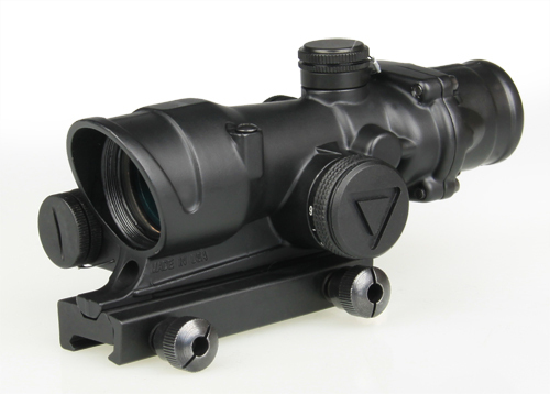 Free Shipping Tactical ACOG 4x32 LED Scope Hunting Rifle Scope for Outdoor Sport  CL1-0225<br><br>Aliexpress