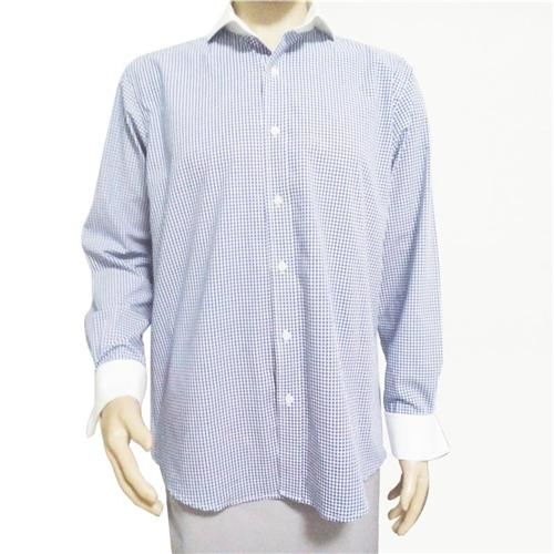Popular blue french cuff dress shirt buy cheap blue french for French cuff shirts cheap