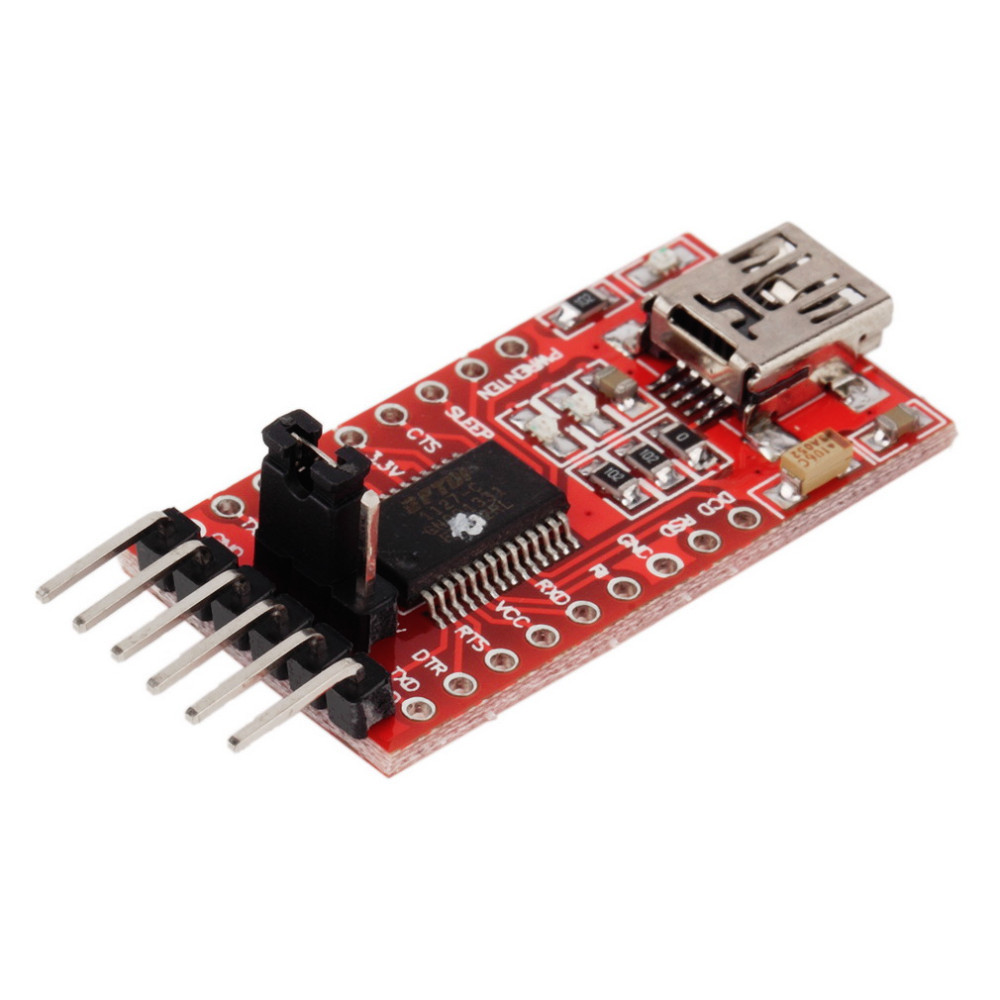 image for 1pc FTDI FT232RL USB To TTL Serial Converter Adapter Module 5V And 3.3