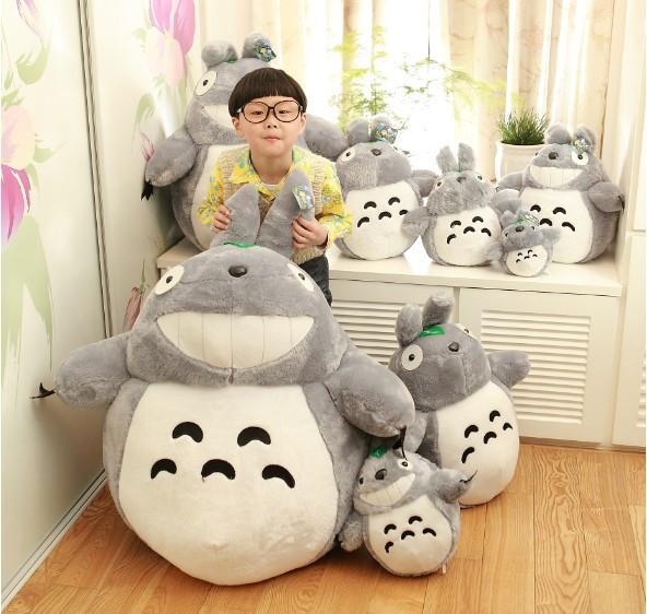my neighbor totoro toy plush cat chinchillas 25cm totoro baby totoro stuffed animal doll toys Kids Gift(China (Mainland))