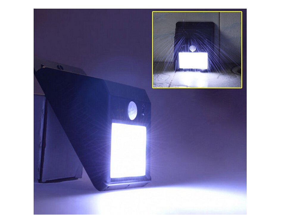 10 led motion sensor ace solar light dusk to dawn security lighting. Black Bedroom Furniture Sets. Home Design Ideas