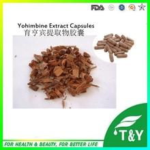 Male Fertility Yohimbine Hcl Extract Supplement Capsules 500mg*100pcs/Bag(China (Mainland))