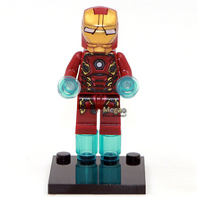 Single Sale DC Marvel Avengers Super Heroes Batman Spiderman  Building Blocks Sets Minifigures Classic toys Best Children Gift(China (Mainland))