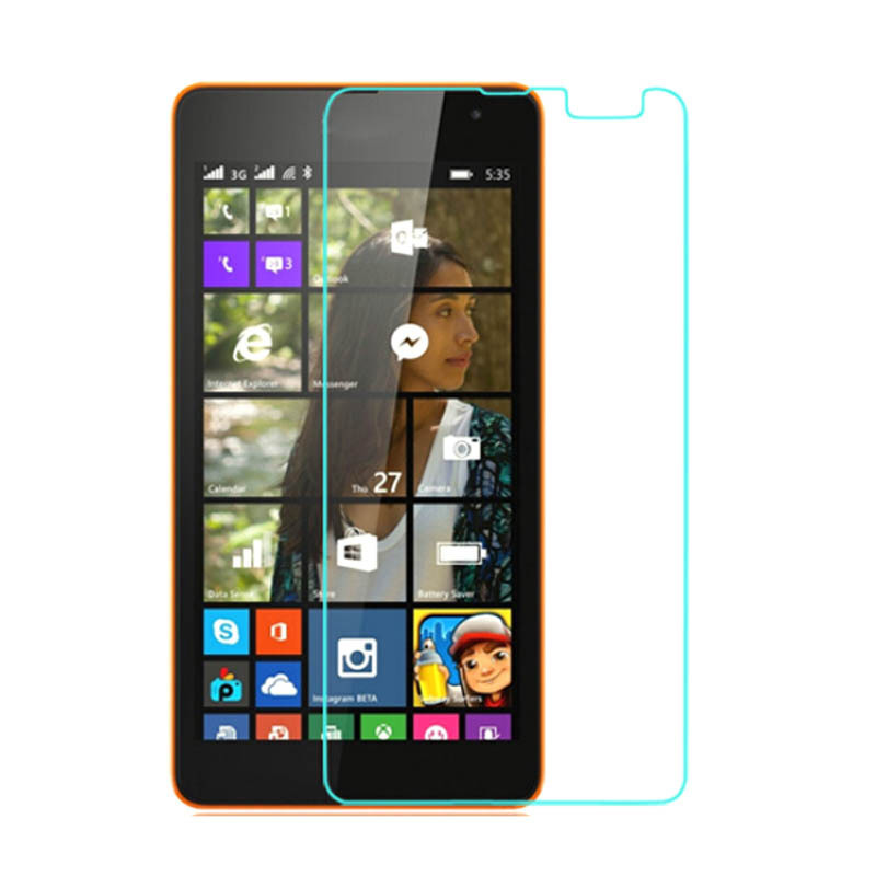 535 Tempered Glass Screen Protector Film for Nokia Lumia 535 with retail Package
