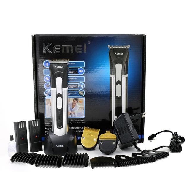 T108 kemei мужчины ребенок машинки для стрижки волос триммер борода профессиональный ...