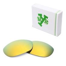 MRY POLARIZED Replacement Lenses for Oakley Monster Dog Sunglasses 24K Gold