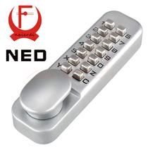 Zinc Alloy Keyless Combination Mechanical Digital Door Lock no need Power Push Button Code Lock(China (Mainland))