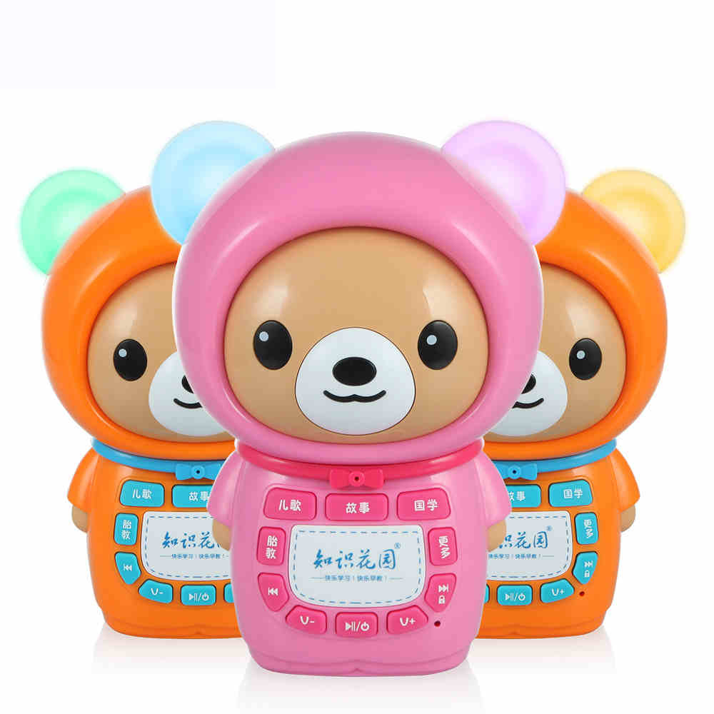 4G rechargeable downloadable Antenatal training multifunction learning machine child story machine mp3 pre-teaching baby toy(China (Mainland))