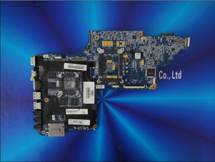 New for HP DV6-6000 series 644470-001 laptop motherboard HM65 for intel cpu with 8 video chips non-integrated graphics card(China (Mainland))