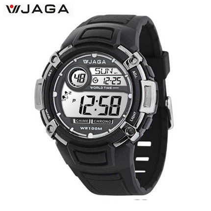 Students trend electronic watch JAGA Express card multifunction sports watch waterproof luminous male watch mountaineering M862(China (Mainland))