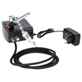 Dual Action Airbrush Set Spray Gun Air Compressor Kit Aerograph for Art Painting Body Tattoo Manicure
