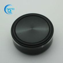 Free Shipping 4PCS 58*22mm Black Speaker Turntable CD Player Computer DAC Machine Feet Amplifier Feet Aluminum Alloy
