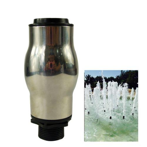 "Здесь можно купить   2Pcs DN25 1"" Steel European Foam Water Fountain Nozzle  Head Pond Sprinkler  Дом и Сад"