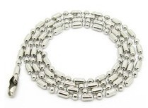 Cheap Chain Wholesale Stainless Steel Chain Necklace 50mm Fashion Men's Jewelry Top Quality(China (Mainland))
