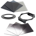 KnightX Filter Set Complete ND2 nd4 nd8graduated Cokin P Filter Holder Adapter for Canon Nikon 52mm