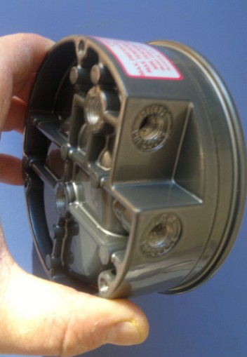 Фотография 2000 micro-micro-differential pressure gauge pointer round complete specifications