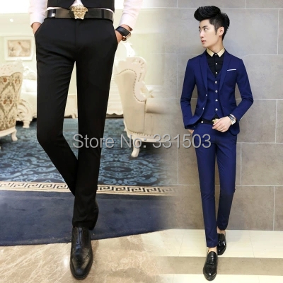 mens formal pants 2015 new fashion men suit pants men
