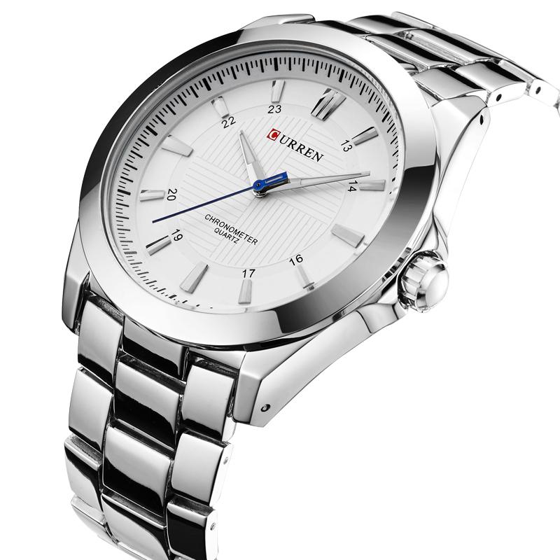 CURREN 8109 fashion brand men brand Men's Round Dial Alloy Analog Watch big watch men(China (Mainland))