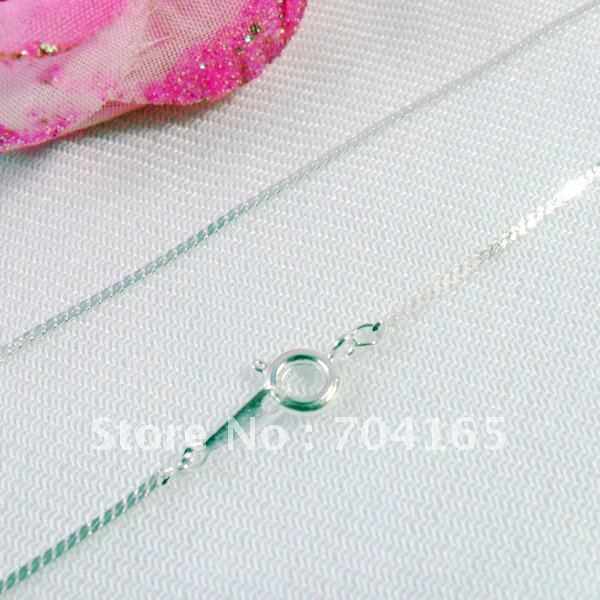 Free shipping wholesale and hot retail silver  plated   necklace &chains  SN10064  420x1mm 60pcs/lot