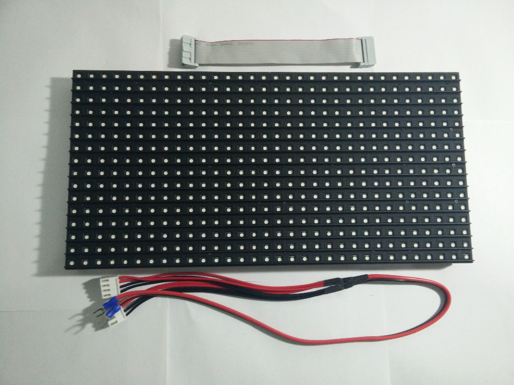 RGB Full Color Outdoor P10 LED Display Modules 320*160mm SMD3535 1/4S Outdoor P10 LED Panel Waterproof Outdoor LED Display(China (Mainland))