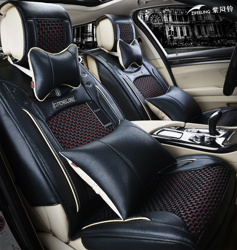 2015 New Arrival Universal Car Seat Covers Leather Fit Citroen C4 Ford Focus 2 Volvo Xc60 Chery Tiggo Lada Kalina Mazda Cx-5 Etc(China (Mainland))