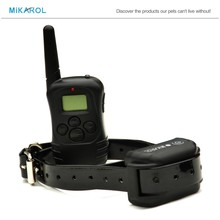 100 Levels Pet Training Electric Collar Dog Remote Small Dog Shock Collar with LCD Display Suitable for S/M/L Dogs(China (Mainland))