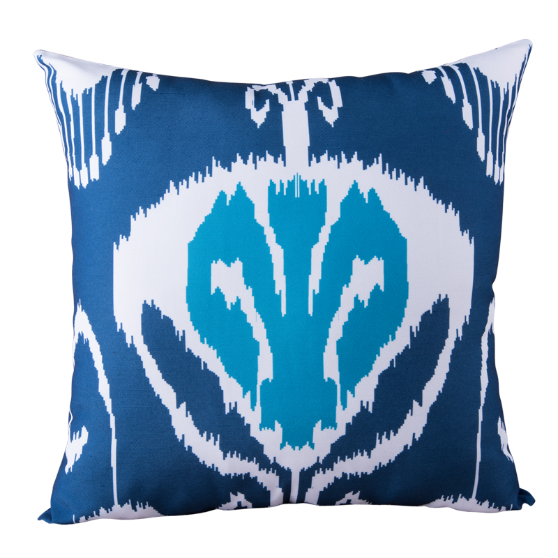 In Expensive Throw Pillows : Blue White cheap Throw Pillows Home Cushion Cover for Sofa Square Seat Pillow Case Car Seat ...