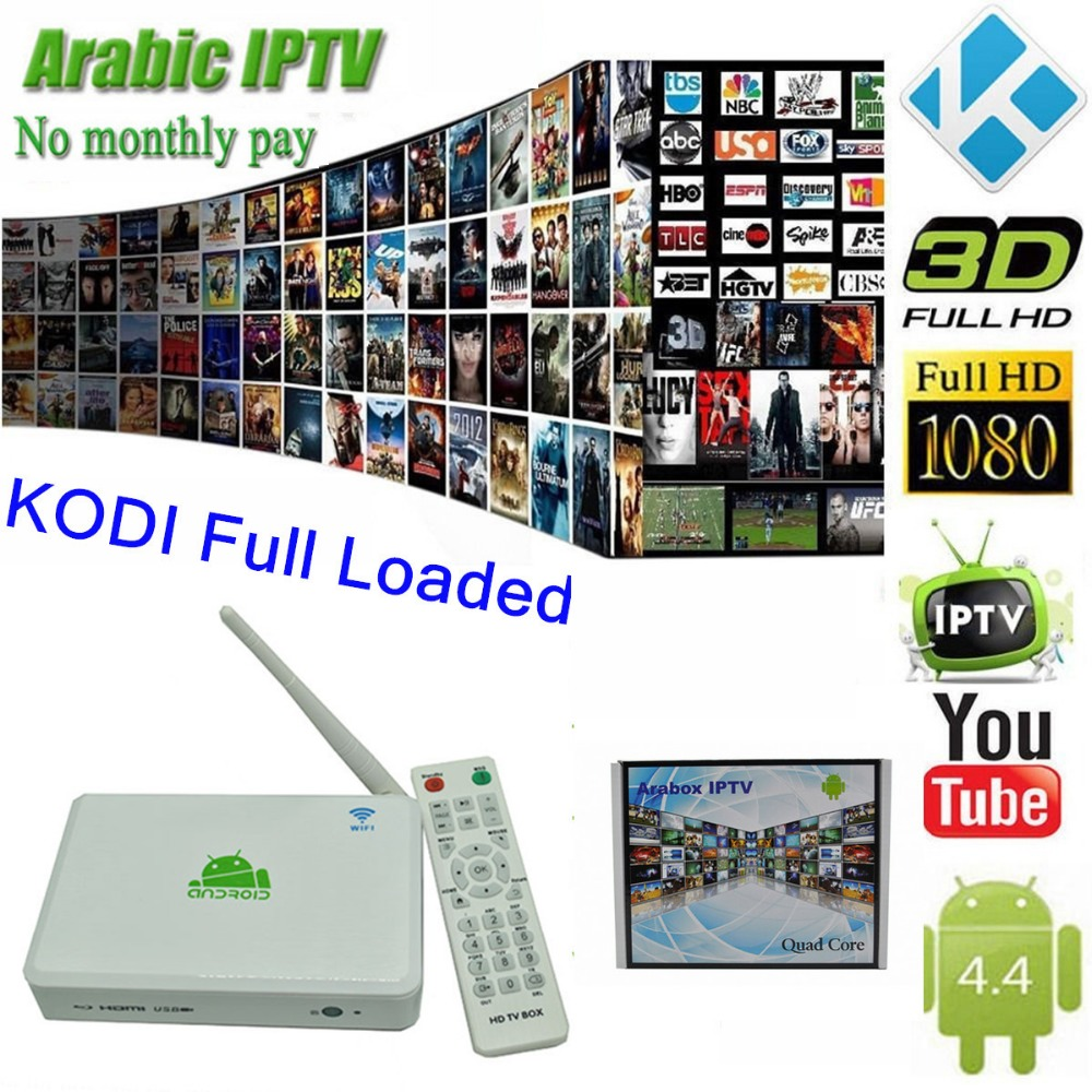New Coming Arabic IPTV Free TV,Android TV Box KitKat with Quad Core S805 Arabic IPTV Box,African /French /Arabic/Turkish Channel(China (Mainland))