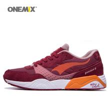 Free Shipping Woman Running Shoes For Women Run Retro Athletic Trainers Purple Zapatillas Sports Shoe Outdoor Walking Sneakers