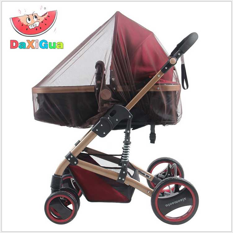 Baby Stroller Pushchair Mosquito Insect Shield Net Safe Infants Protection Mesh Stroller Accessories Mosquito Net trq0085(China (Mainland))