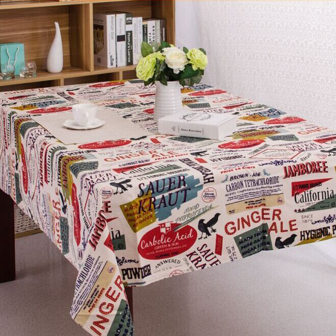 waterproof tablecloth black butterfly pattern multi-size Picnic mat kitchen dinning table cloth freeshipping(China (Mainland))