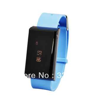 Bluetooth Bracelet with answering call function  watch Time/Caller ID Display Vibration wholesales free shipping