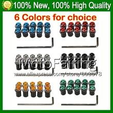 Windscreen bolts screw HONDA GL1800 Goldwing 01-10 GL 1800 GL-1800 01 02 03 04 05 06 07 08 09 10 6F#2 Windshield screws Nuts - Motofairing store