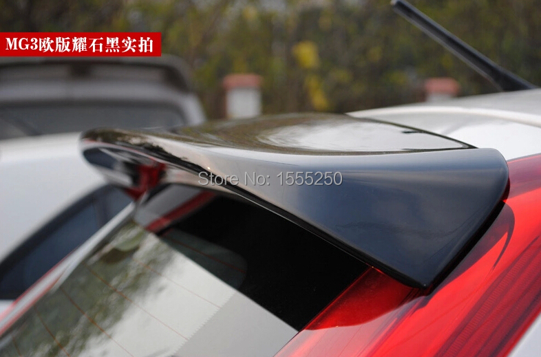 Auto rear spoiler car unpainted abs spoiler for mg3   auto accessories