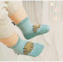 Kids Boy Socks Cotton Cartoon Character Dinosaur Socks For Baby Boys 3 Pairs/Park Children Socks 0-4 years(China (Mainland))