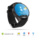kw88 Android 5 1 Smart Watch 512MB 4GB Bluetooth 4 0 WIFI 3G Smartwatch Phone Wristwatch
