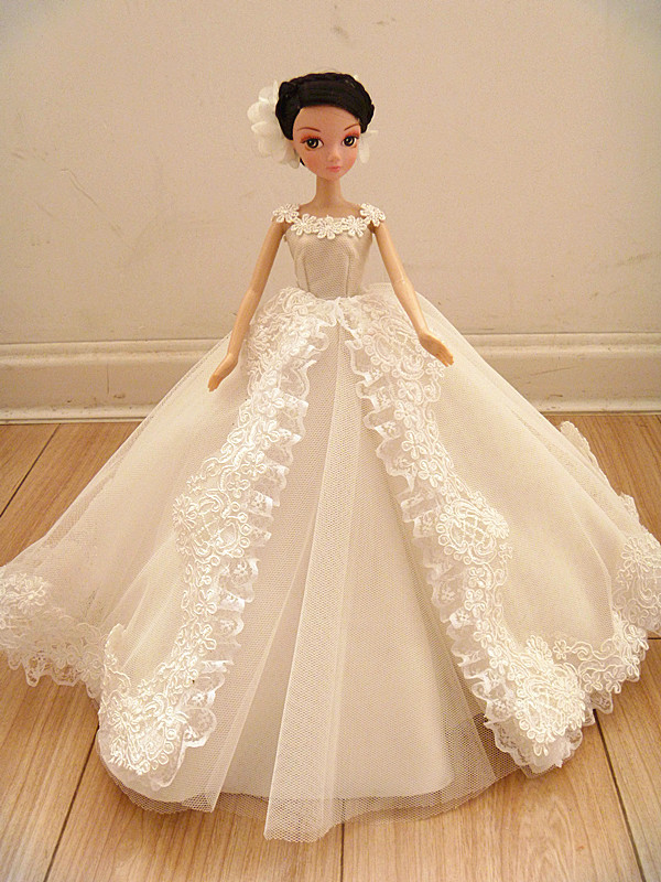 Autonomous design handmade Presents For Ladies Doll Equipment Night Go well with Wedding ceremony Costume Garments For Barbie 1:6 Doll BBI0091