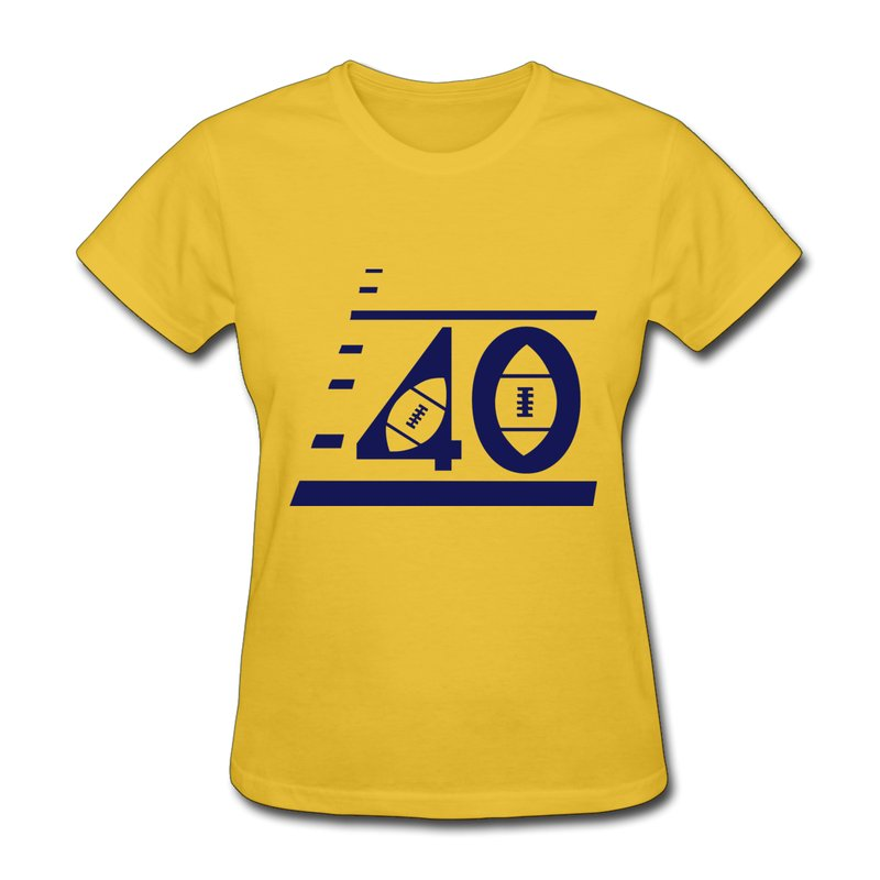 New 2014 summer custom short sleeve womens t shirt custom for Personalized football t shirts