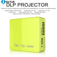 Korea Free Shipping UC50 Mini DLP Pico Projector HDMI Home Theater beamer multimedia 800lumens Projektor Beamer proyector 1080P