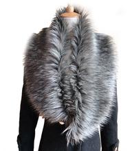 New Womens Shrug Winter Fashion Faux Fur Collar Scarf Warm Shawl Wrap Stole Cape  Drop shipping(China (Mainland))