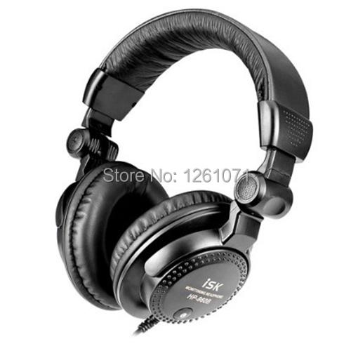 Brand New Over ear ISK HP-960B Professional Studio Monitor Dynamic Stereo DJ Headphones HD headset Free shipping(China (Mainland))