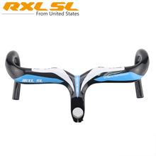 Buy Handlebar Extender Handlebars Carbon Bike Road Integrated Handlebar Stem RXL SL Carbon Drop Bar 3K Gloss 400/420/440*31.8 for $50.40 in AliExpress store