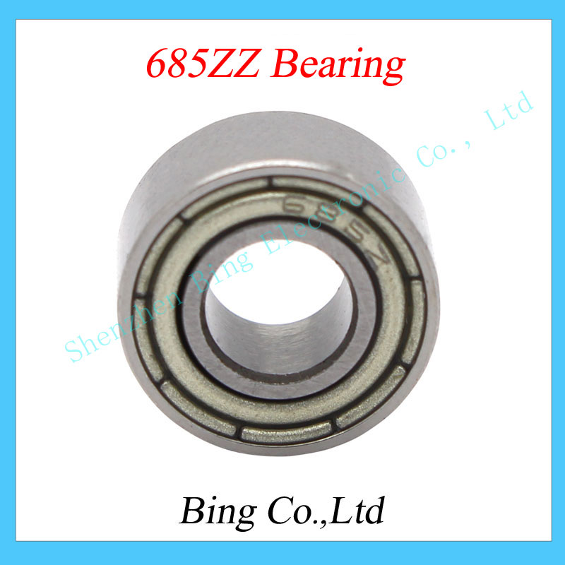 10pcs lot 685 685Z 685ZZ metal Sealed Miniature Mini Bearing 5 11 5mm 5x11x5mmchrome steel bearing