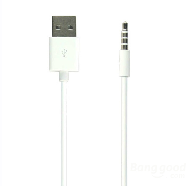 Hotdeal case for shuffle 3 Gen USB Charging Cable Data Cable For iPod(China (Mainland))