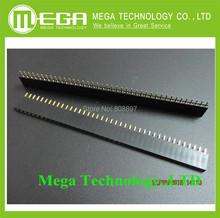 Free shppping !!! 3200pin = 1x40 Pin 2.54mm Single Row Female Pin Header Connector 80PCS/LOT(China (Mainland))