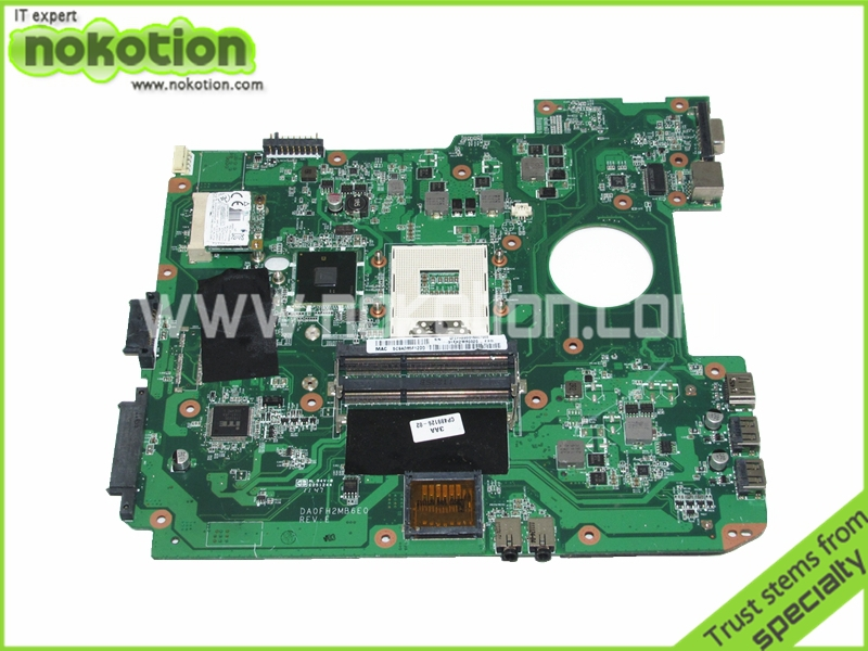 Laptop Motherboard for FUJITSU L AH530 DA0FH2MB6E0 HM55 GMA HD DDR3 Mother Boards Mainboard Free Shipping(China (Mainland))