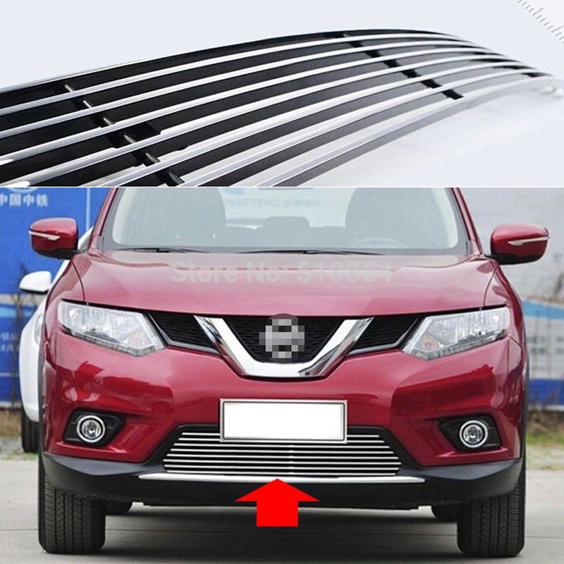 Фотография High quality stainless steel Front Grille Around Trim Racing Grills Trim For 2014 X-TRAIL