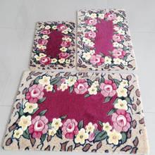 2014 High quality Top sale 5 design 2pcs 45*70cm 60*90cm Slip resistant home decoration carpets for living room modern on sale(China (Mainland))