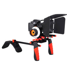 Buy DHL Aputure V2 Camera Shoulder Stabilizer Mountt Rig + Matte Box + Follow Focus Canon Nikon DSLR Video Camera DV Camcorder for $289.00 in AliExpress store